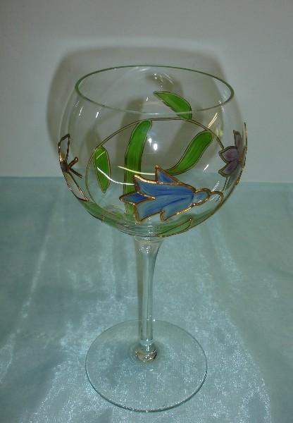 Nagel Glas Windlicht - Handbemalt - Traumwelten | EBay